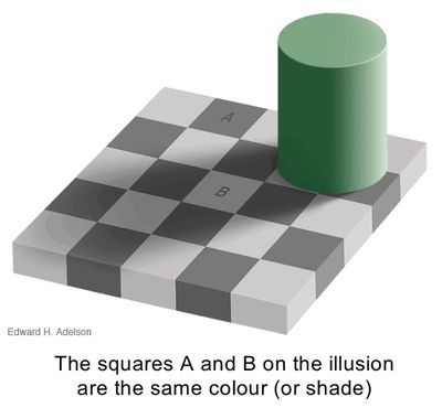 How optical illusions work!