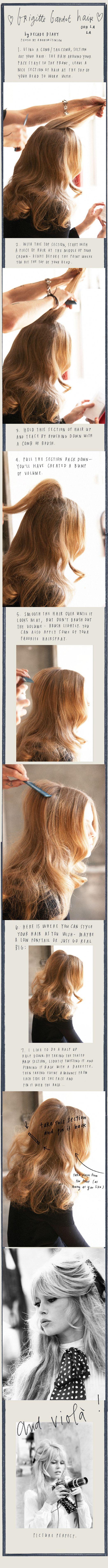 bridgett bardot hair