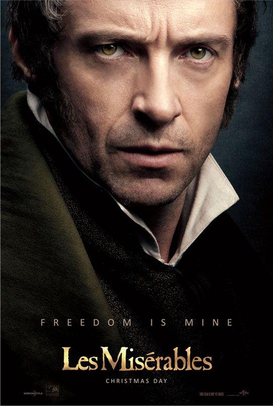 Freedom is mine. Hugh Jackman is Jean Valjean in Les Miserables, in theaters Christmas 2012. http://www.lesmiserablesfilm.com/unlock