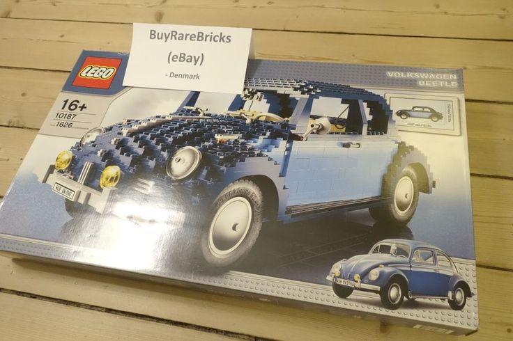Lego 10187 Volkswagen VW Beetle Car, NEW Sealed Collectible Set Retired HTF NISB