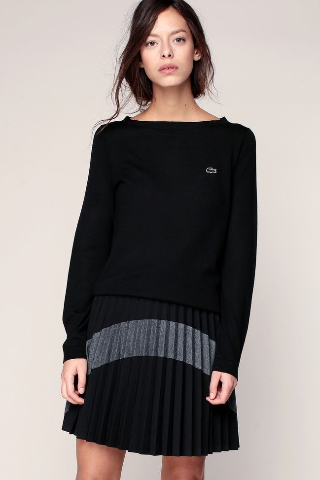 Lacoste Pull Laine