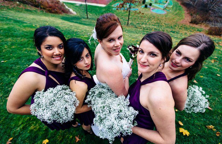 Bride and bridesmaids #Wedding #NovaScotia #Canada #OakIsland #VSCO #VSCOFilm