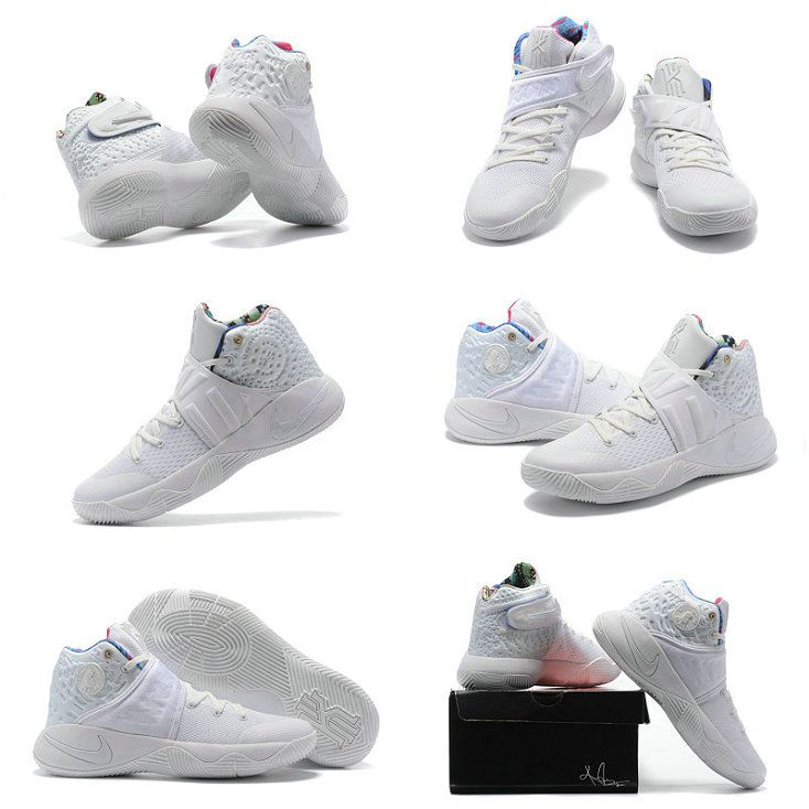 new products 86907 20242 2018 Buy 2017 New Arrival Nike Kyrie 2 II What The Sail 914681 300