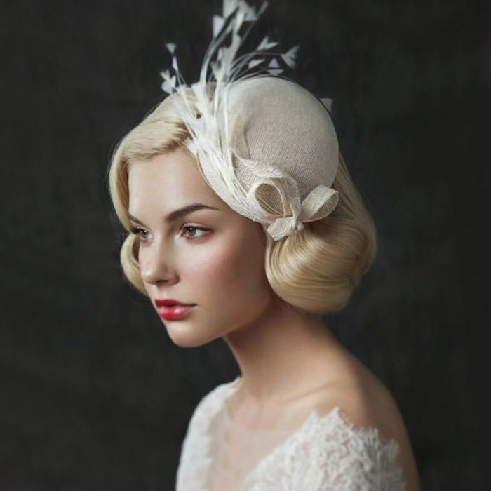 Cheap bridal hats, Buy Quality wedding bridal hats directly from China chapeau femme mariage Suppliers: European Style Handmade Bridal Headdress Hat 2017 Feather Retro Wedding Hats Women chapeaux de mariage pour les femmes