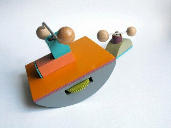 KINETIC TOYS FROM MARTA BAKOWSKI - http://thefoxisblack.com/2012/01/04/kinetic-toys-from-marta-bakowski/