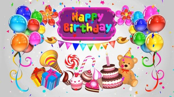 Happy Birthday Wishes For Kids - Birthday Cards, Wishes, Greetings, Lines And Sayings