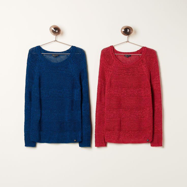 Spring Drumming | New Collection | Knitwear | Blue | Fuchsia