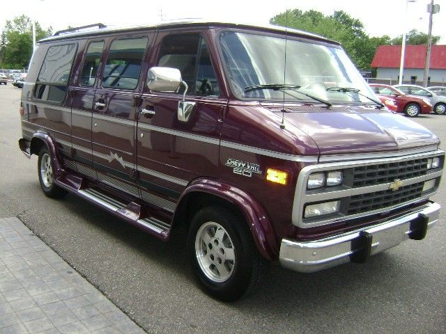 Chevy G20 Conversion Van Not Sure Of The Year
