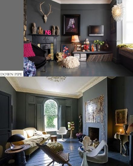 Farrow & Ball Down Pipe # 26  Visit Stockist Timeless Materials for a complimentary Colour Card & Consultation
