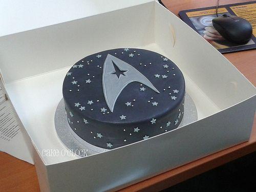 Image detail for -Notorious cupcakes! // star trek cake
