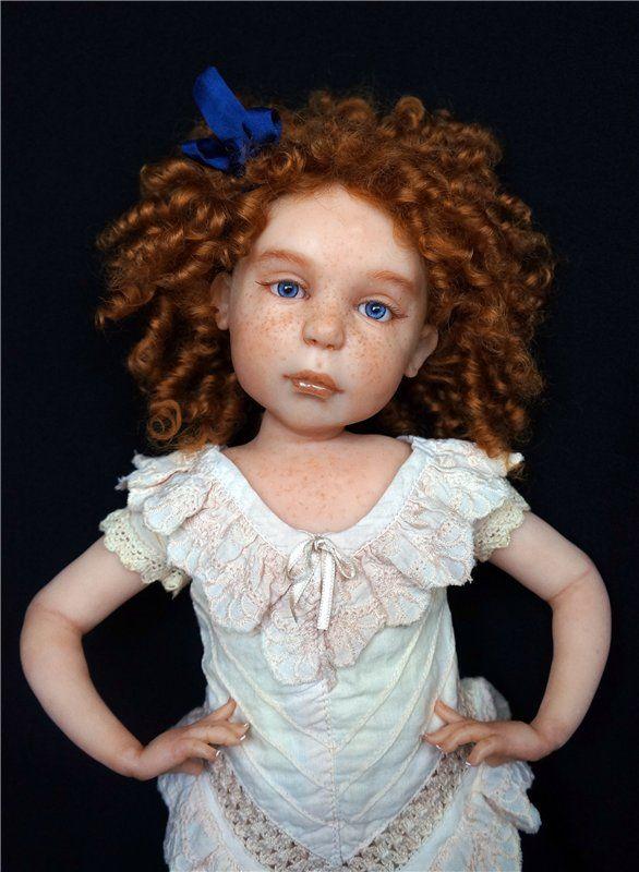 ООАК кукла Светланы Гришко. Рыжий ребенок / Изготовление авторских кукол своими руками, ООАК / Бэйбики. Куклы фото. Одежда для кукол
