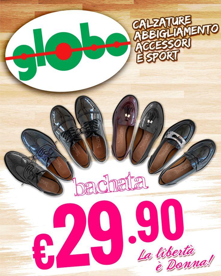 """""""La Libertà è Donna"""" Nuove scarpe Bachata a €29,90!"""