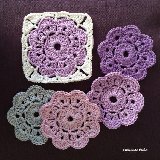 DIY – Virkad Maybelle blomma | BautaWitch