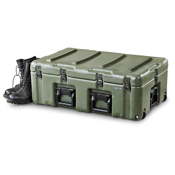 U.S. Military Surplus Hardigg Medical Chest, Used