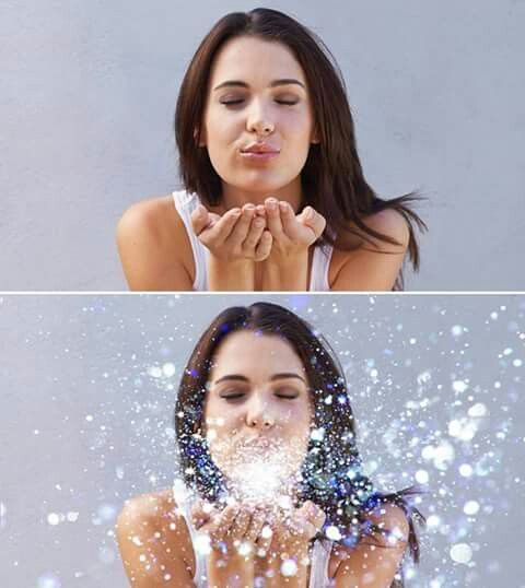 Presenting a Before & After Picture from the Glitter Sampler Collection.  https://www.etsy.com/listing/280789636/glitter-overlays-blowing-glitter  #Glitter #Blowingglitter #Photoshop #Glitterblown #Photographystudio #Photostudio #Photoshopoverlays #Overlays