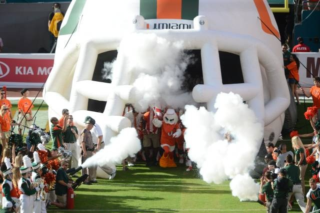 Photo Gallery: Photo Gallery: Football vs. USF - University of Miami Hurricanes Official Athletic Site