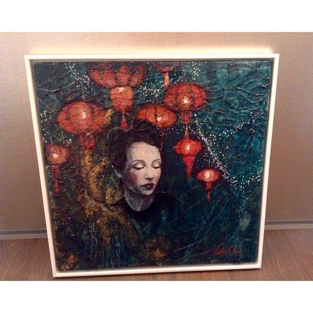 Outstanding #artwork by the Brazilian artist Carolina Saidenberg |  Marguerite…
