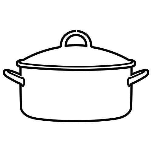 Utensilios de cocina para pintar imagui moldes dibujo pinterest - Hoya de cocina ...
