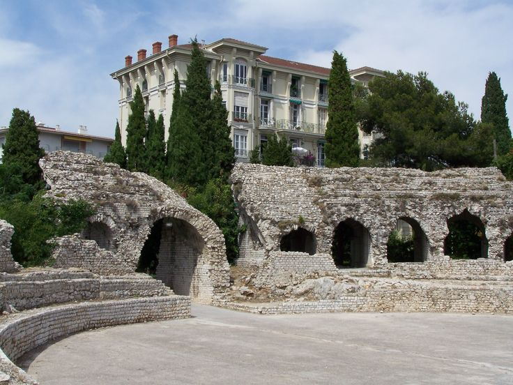 Arènes de Cimiez, Nice.Roman ruins where the Jazz Festival de Nice is held.
