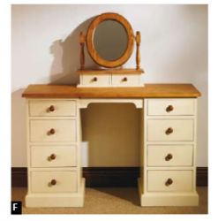 Mottisfont Painted Double Pedestal Desk/Dressing Table is one of the most eye catching furniture and very unique furniture for home also. More details visit our website: http://solidwoodfurniture.co/product-details-pine-furnitures-3381-mottisfont-painted-double-pedestal-desk-dressing-table.html