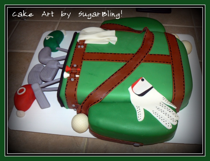 Cake Art Mo : 230 best images about Golf Cakes on Pinterest Golf ...
