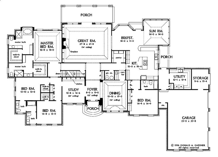 58 best Floorplans images on Pinterest | House floor plans ...