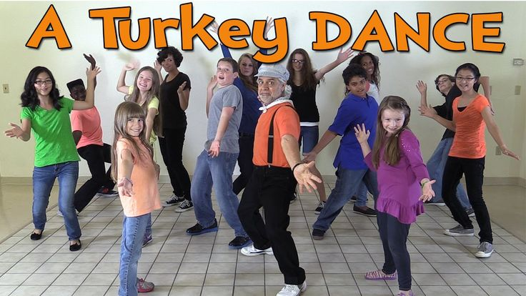 A Turkey Dance by The Learning Station: Your children will learn the moves to this popular Thanksgiving dance song that is sweeping the world. This fun Thanksgiving dance song is great for brain breaks and introducing your Thanksgiving theme. This song is ideal for preschool, kindergarten and elementary age children. A Turkey Dance is also great performed by children for family nights.