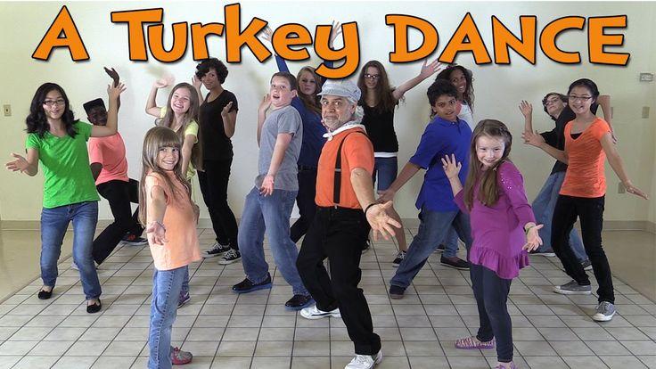 Thanksgiving Songs for Children - A Turkey Dance - Dance Songs for Kids ...