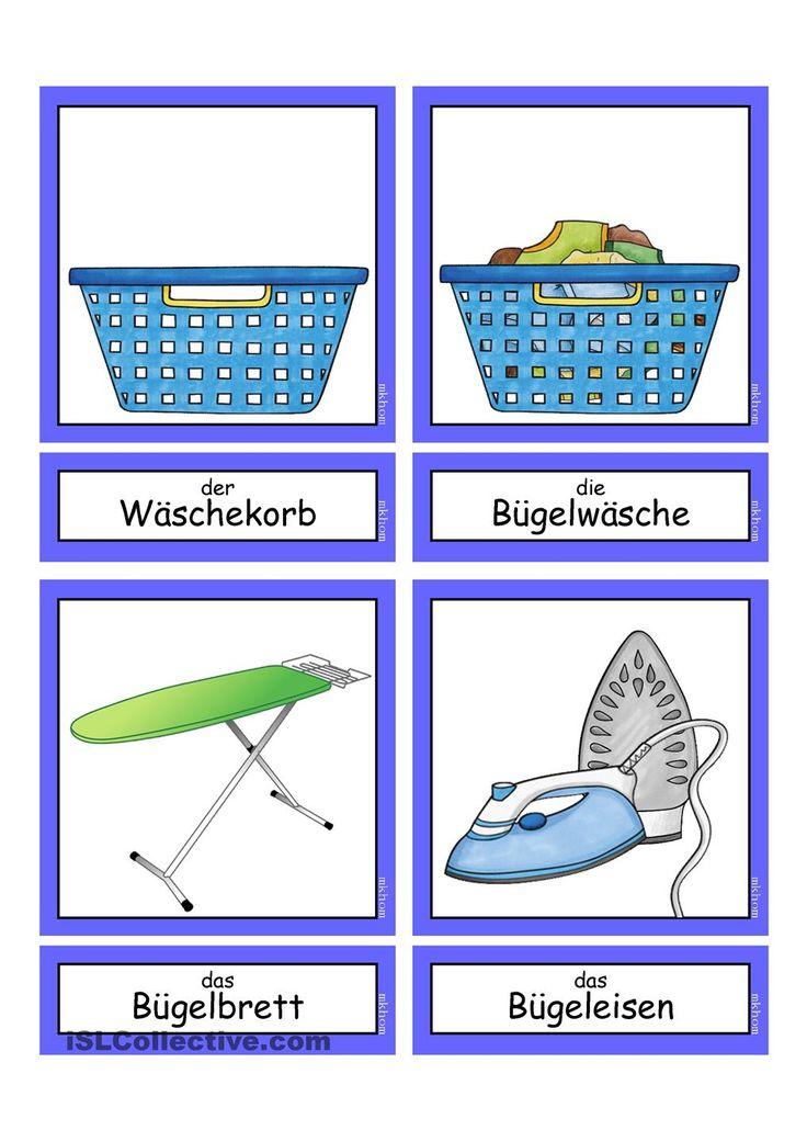 Waschtag _ Flashcards klein