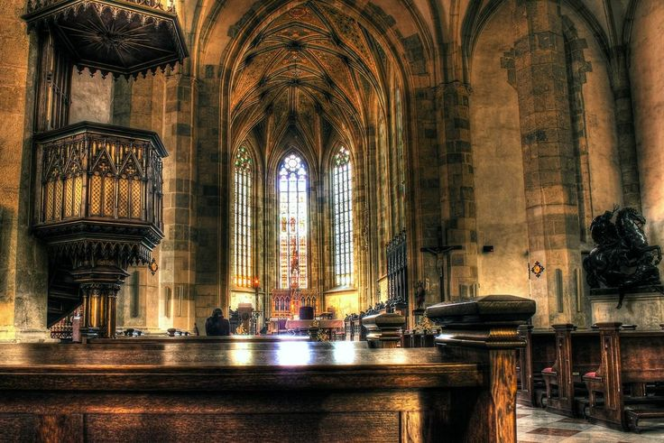 St. Martin Cathedral #Bratislava #Slovakia #Cathedral from deviantART: by *Satourne