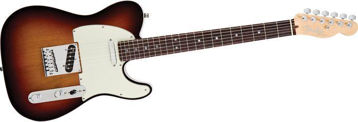 FenderAmerican Deluxe Telecaster Electric Guitar3-Color Sunburst, Rosewood