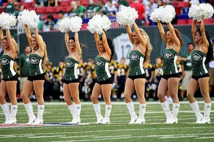 NY Jets Cheerleader