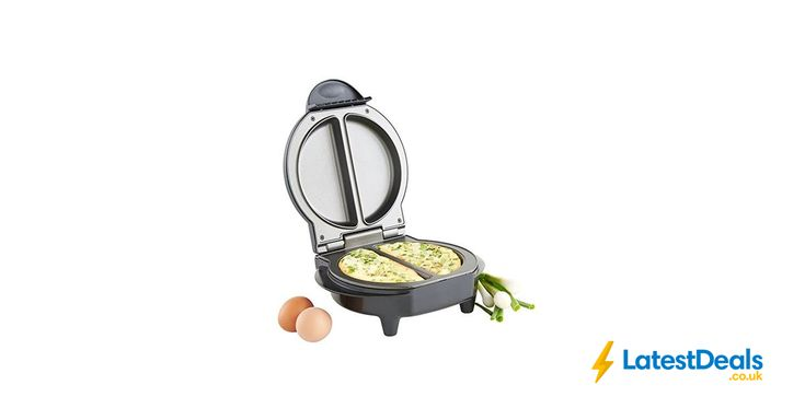 VonShef Electric Omelette Maker Omelettes, Fried & Scrambled Eggs - Non-Stick, £8.99 at Amazon UK