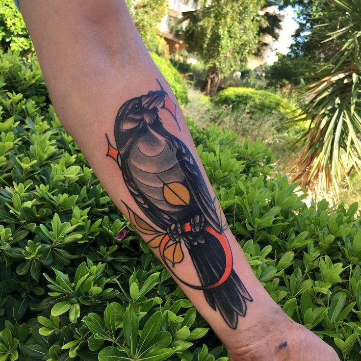 Raven Tattoo 76