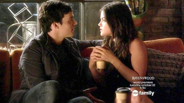 Ezra and aria from pretty little liars dating in real life — 14