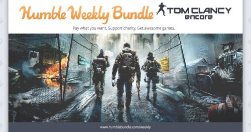 Tom Clancy is back with the Humble Weekly Bundle:... | Humble Mumble