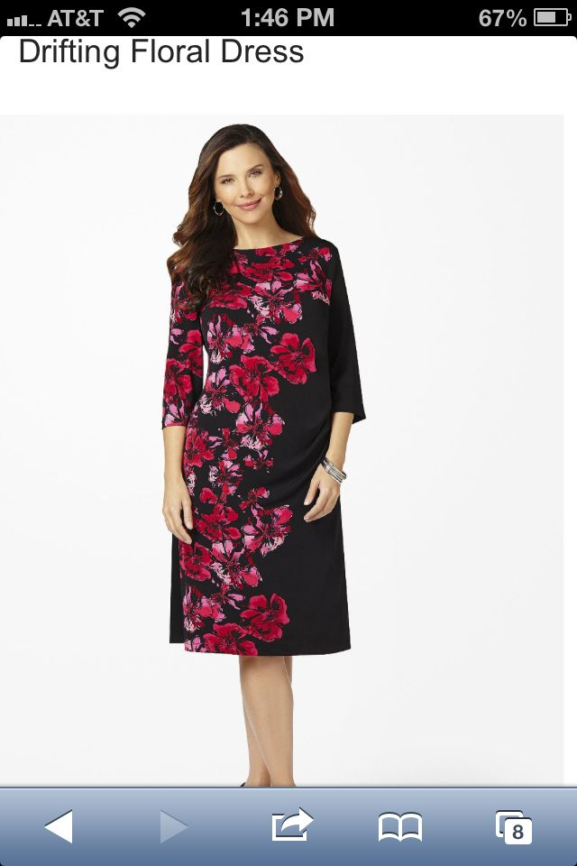Catherine's Drifting Floral Dress