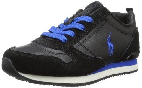 Oferta: 62.02€. Comprar Ofertas de Polo Ralph Lauren - Zapatillas de gimnasia para niño Black/Blu 39/5 barato. ¡Mira las ofertas!