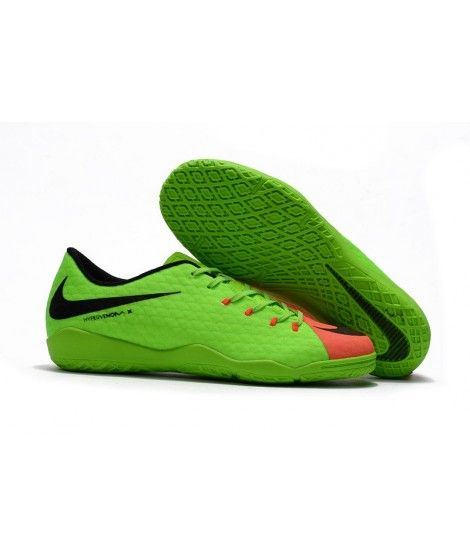 Nike Hypervenom Phelon III IC SÁLOVÁ Zelená Oranžový Černá Kopačky