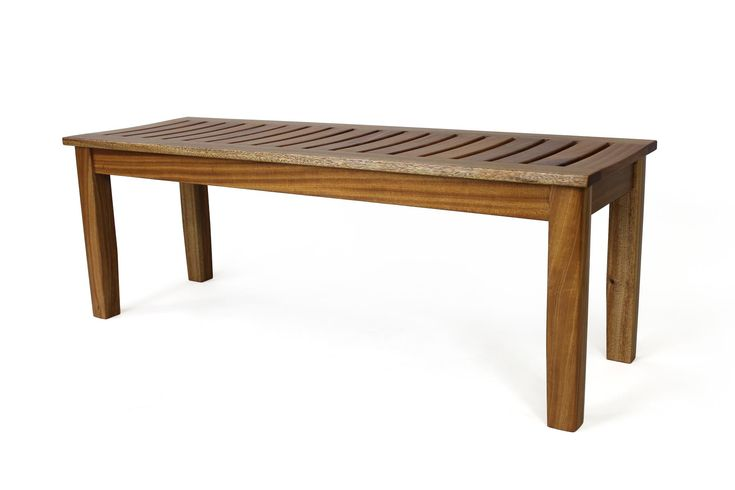 Outdoor Sitting Bench - The Wood Whisperer