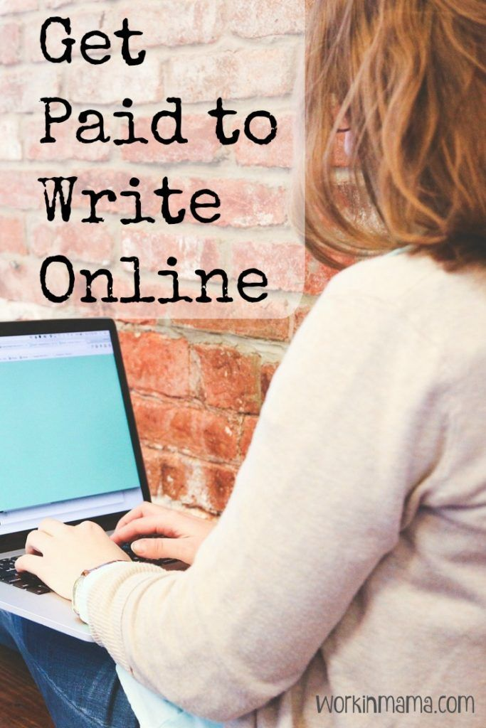 how to get paid for writing online