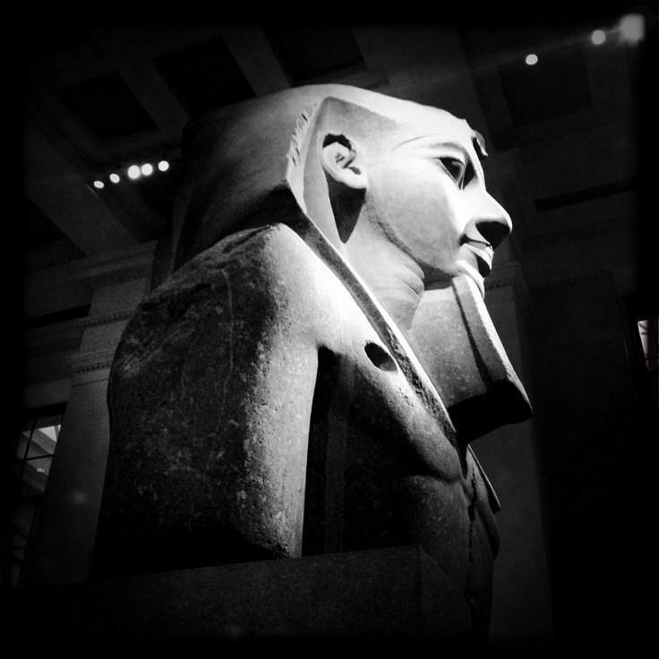 The Egyptian exhibition, The British Museum.