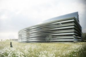 Sustainable office building, a competition entry