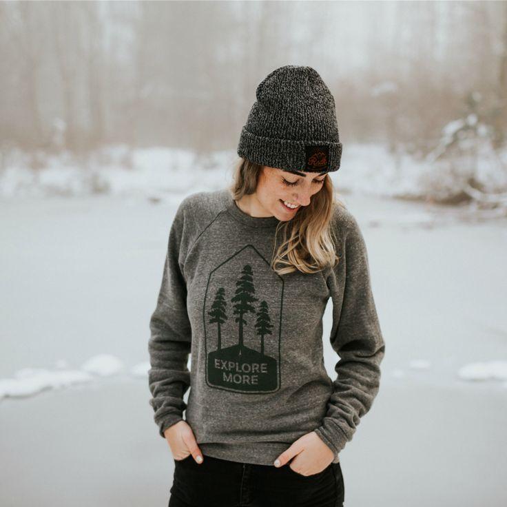 Explore More Crew Sweatshirt - Unisex