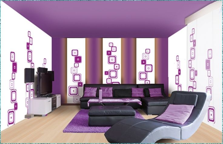 die besten 25 ideen zu lila wohnzimmer auf pinterest lila wohnkultur lila akzente und lila zimmer. Black Bedroom Furniture Sets. Home Design Ideas