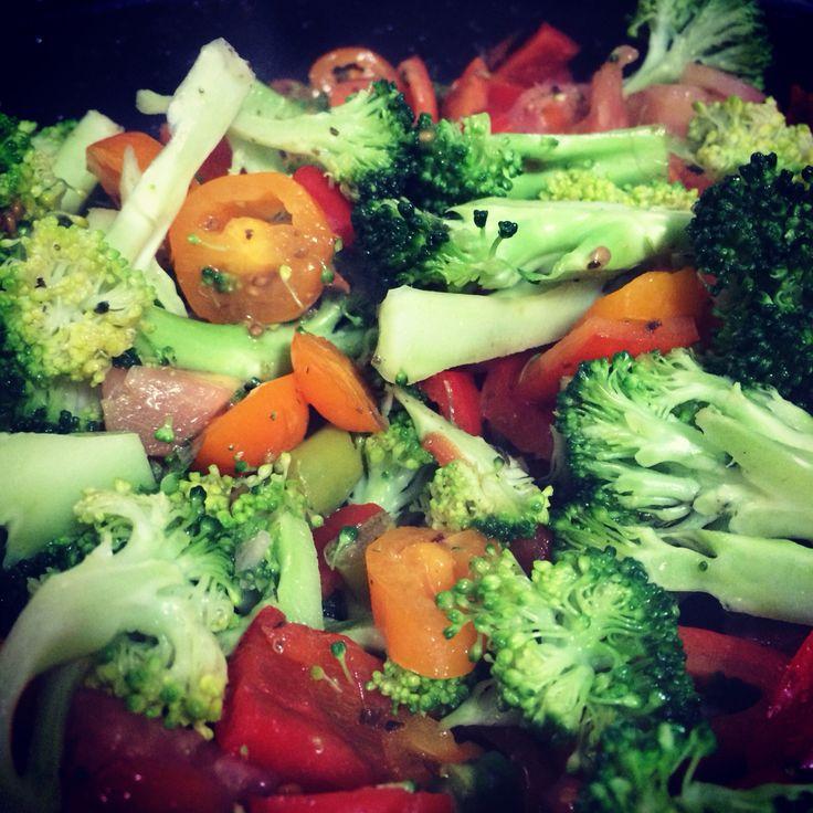 #healthfood #vegetales mmmm delicious!!
