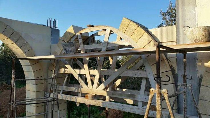 Work #arco #carparo #costruzione