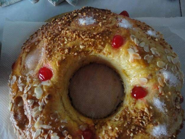 Roscón de Reyes con levadura fresca