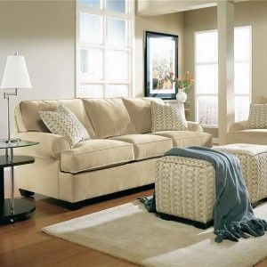 Neutral White - Interior Color Trend 2013 For Cozy Living Room