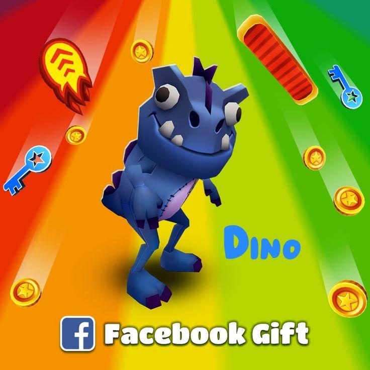 Subway Surfers: New Character Dino London (2014) Gameplay